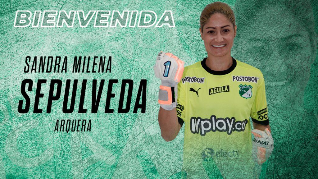 Liga Femenina: Deportivo Cali contrató a Sandra Sepúlveda del Medellín   Antena 2