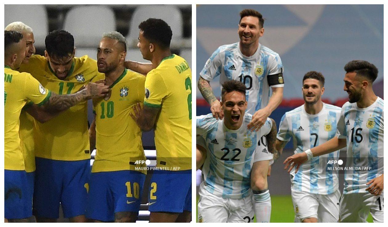 Brasil vs Argentina: qué canal transmite ONLINE; Copa América 2021 | Antena 2