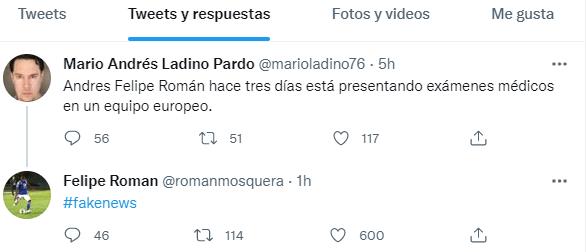 Andrés Román fake news