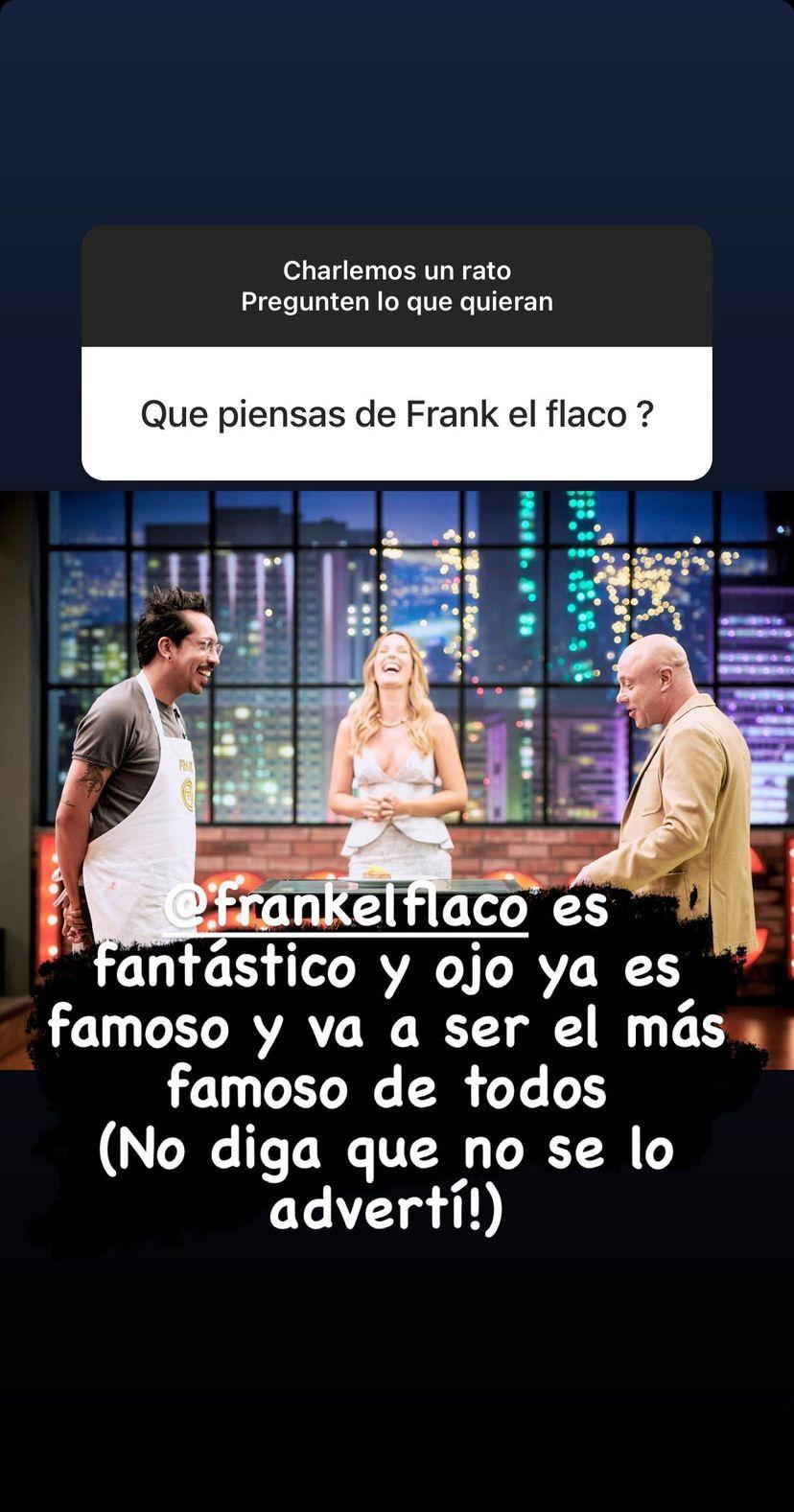 Jorge Rausch habla de Frank Martínez