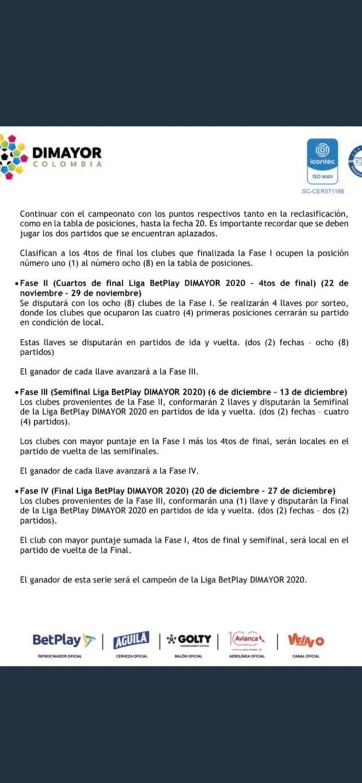 Liga Betplay Dimayor Definio Sistema De Juego Para El Fpc En 2020 Antena 2