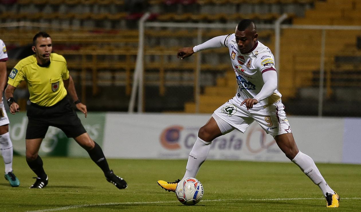 Ángelo Rodríguez delantero de Deportes Tolima