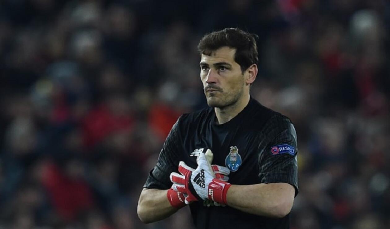 Iker Casillas sufrió un infarto en el entrenamiento del