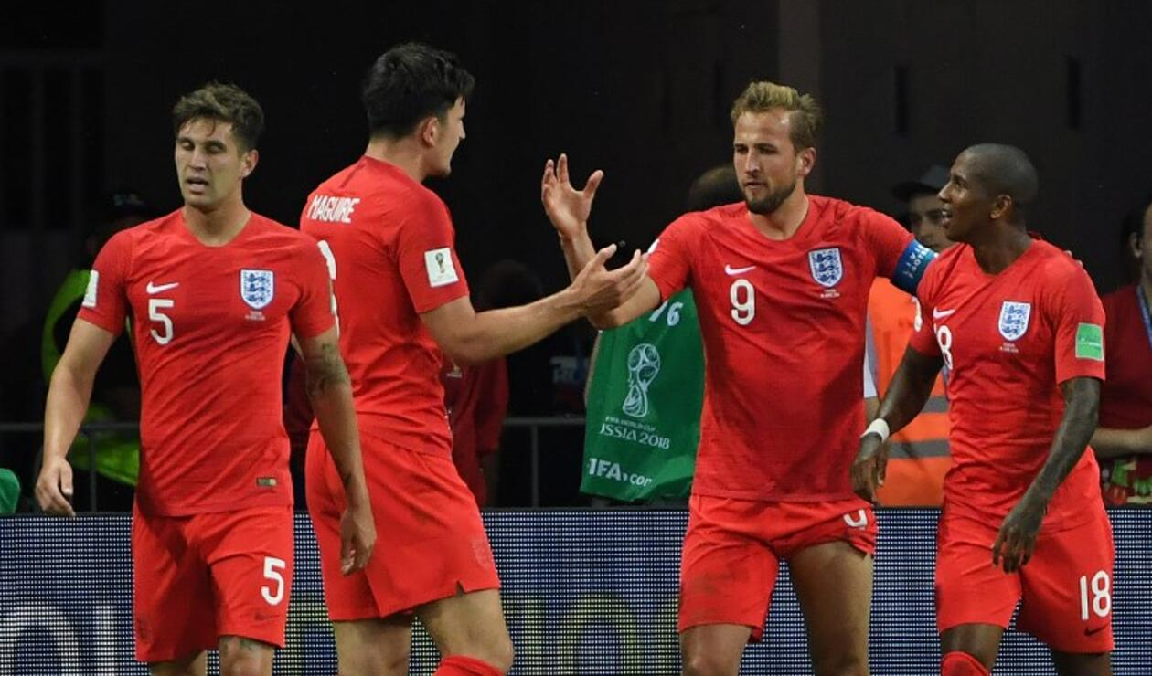 Debut de Inglaterra en Rusia 2018