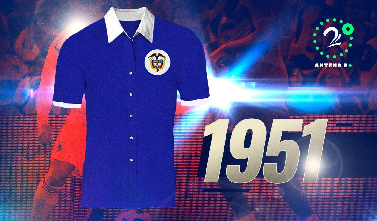 Camiseta Selección Colombia1951