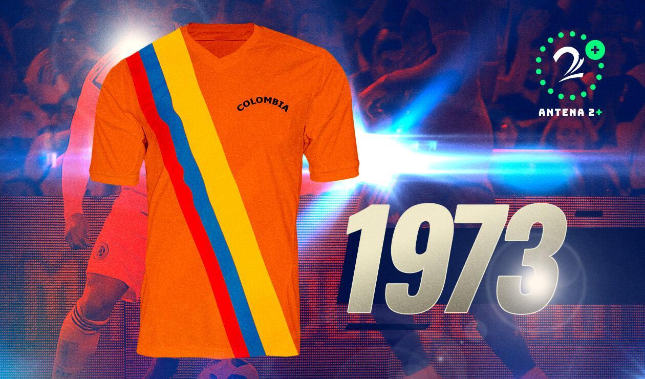 Camiseta Selección Colombia1973