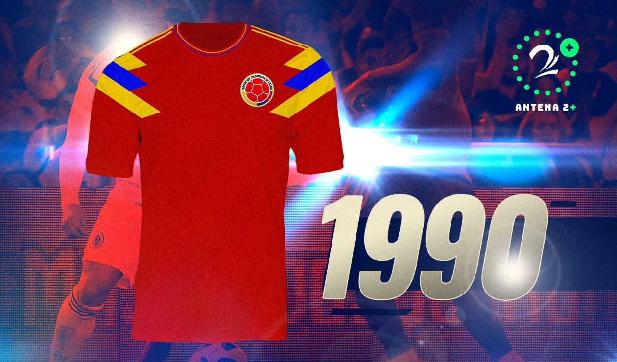 Camiseta Selección Colombia1990