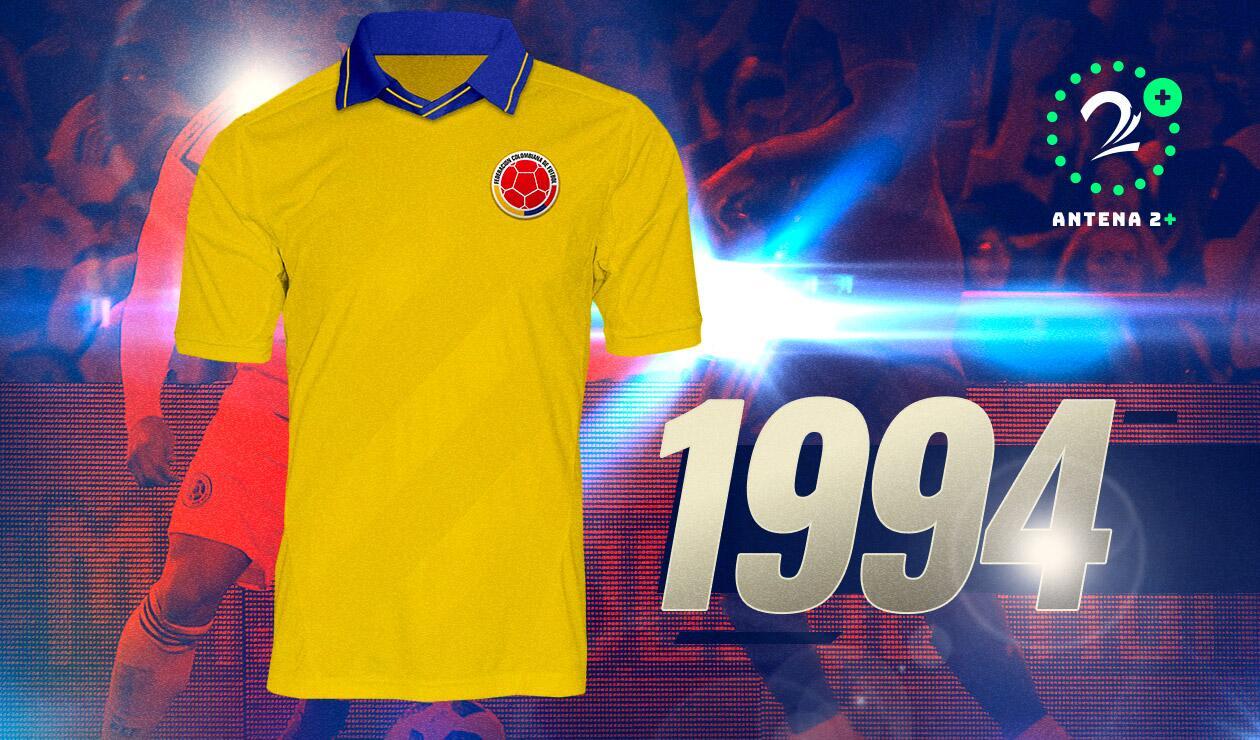 Camiseta Selección Colombia1994