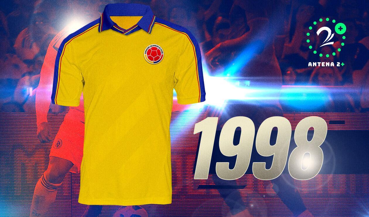 Camiseta Selección Colombia1998