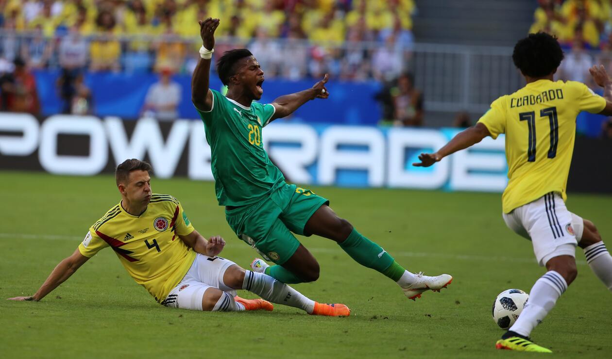 Colombia Senegal Rusia 2018 1