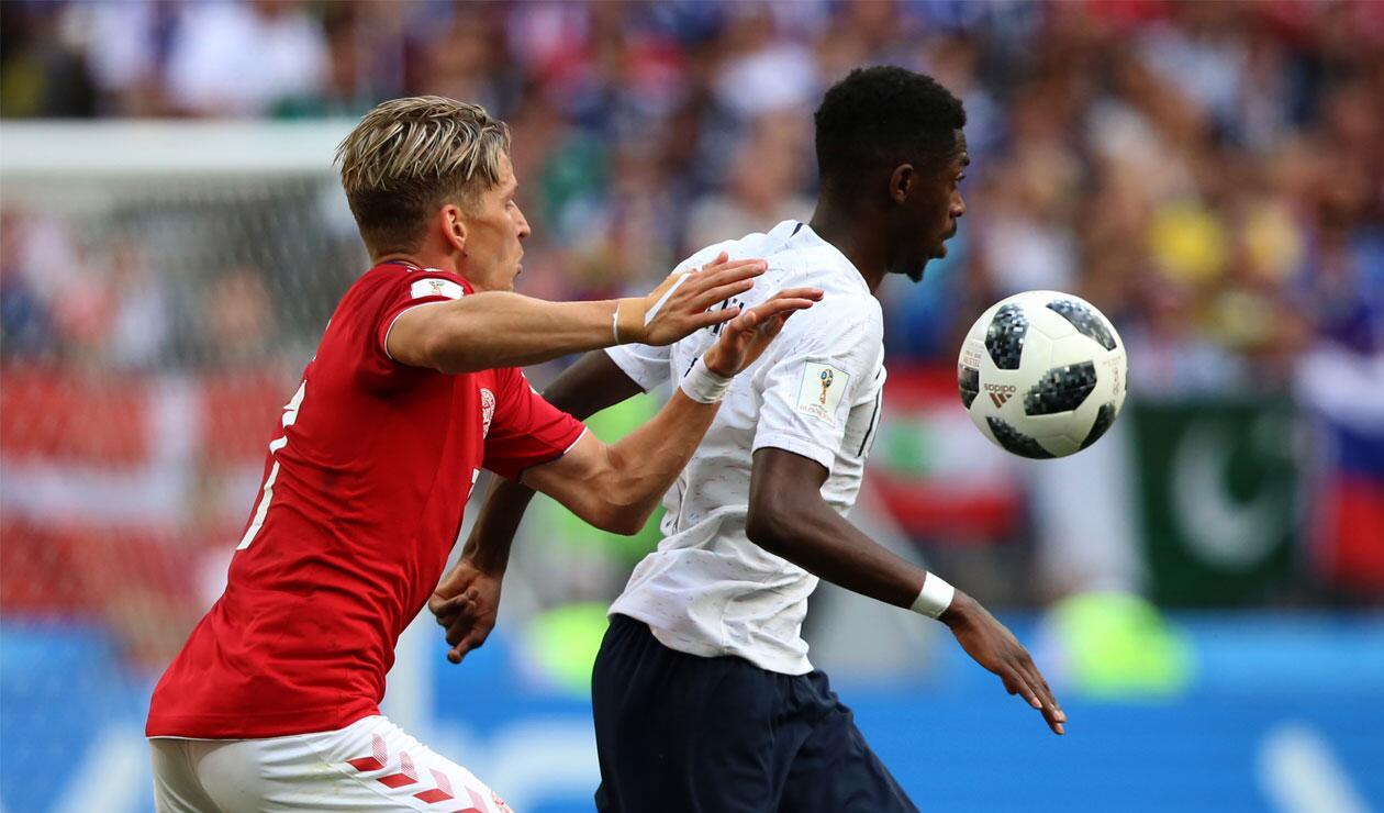 Francia y Dinamarca protagonizaron el primer 0-0 del Mundial
