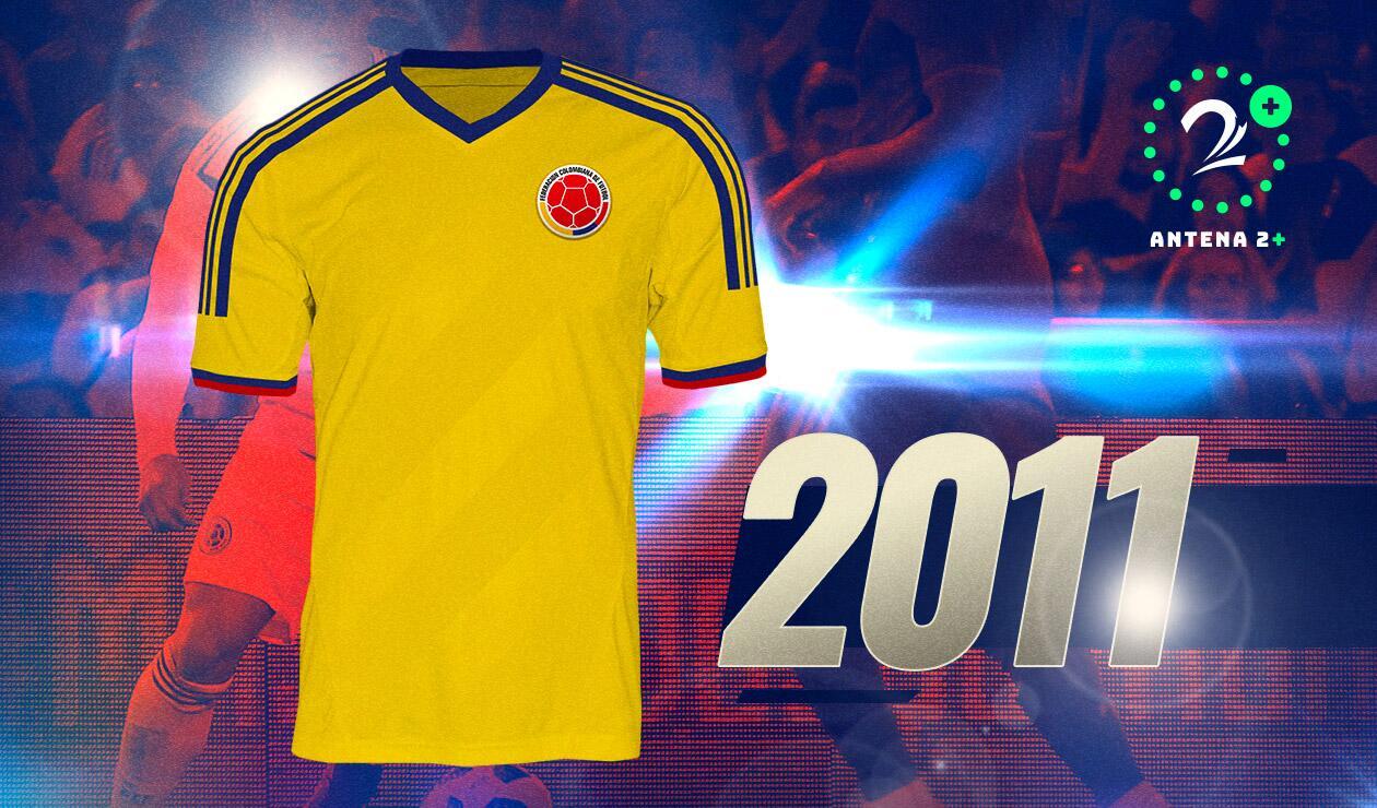 Camiseta Selección Colombia 2011