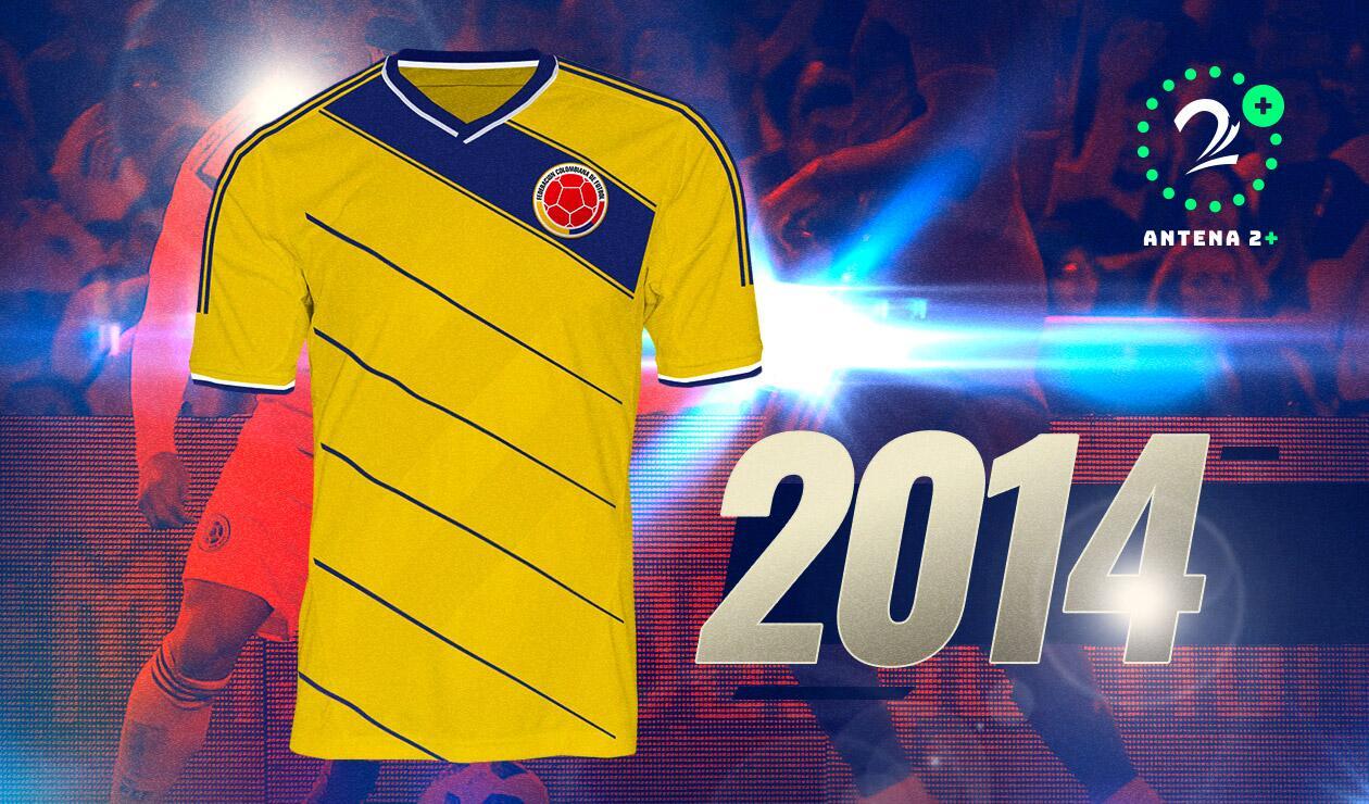 Camiseta Selección Colombia 2014