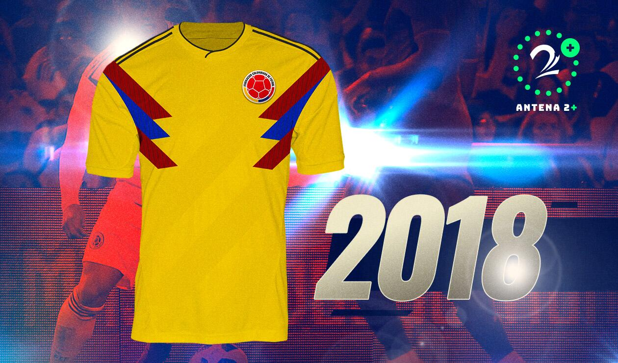 Camiseta Selección Colombia 2018