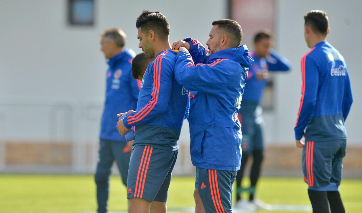 Colombia entrenamiento Rusia jun 15 2
