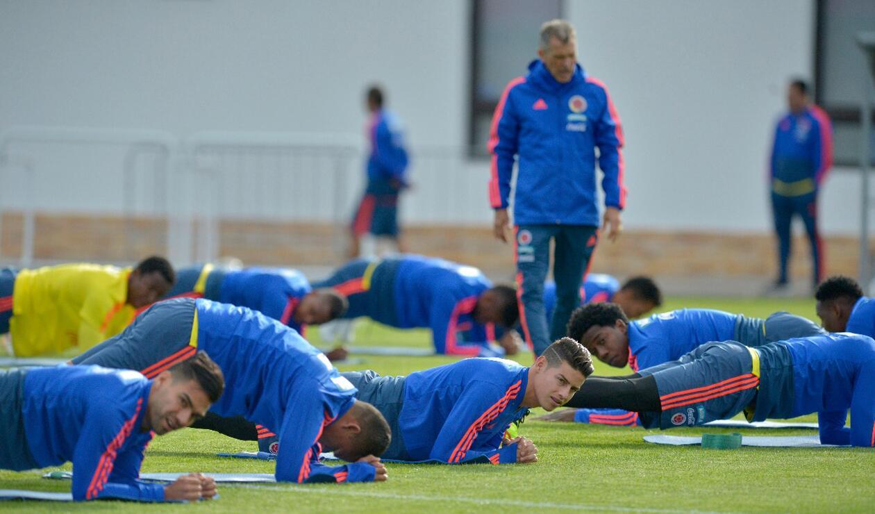 Colombia entrenamiento Rusia jun 15 3