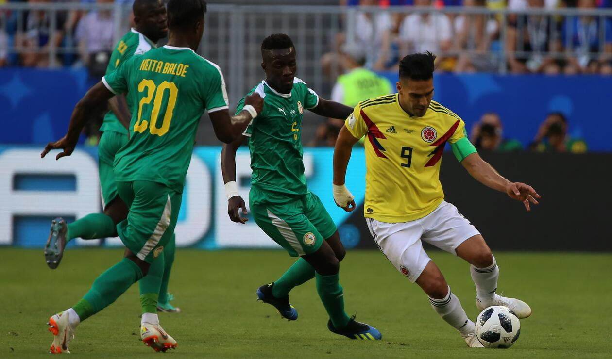 Colombia Senegal Rusia 2018 3