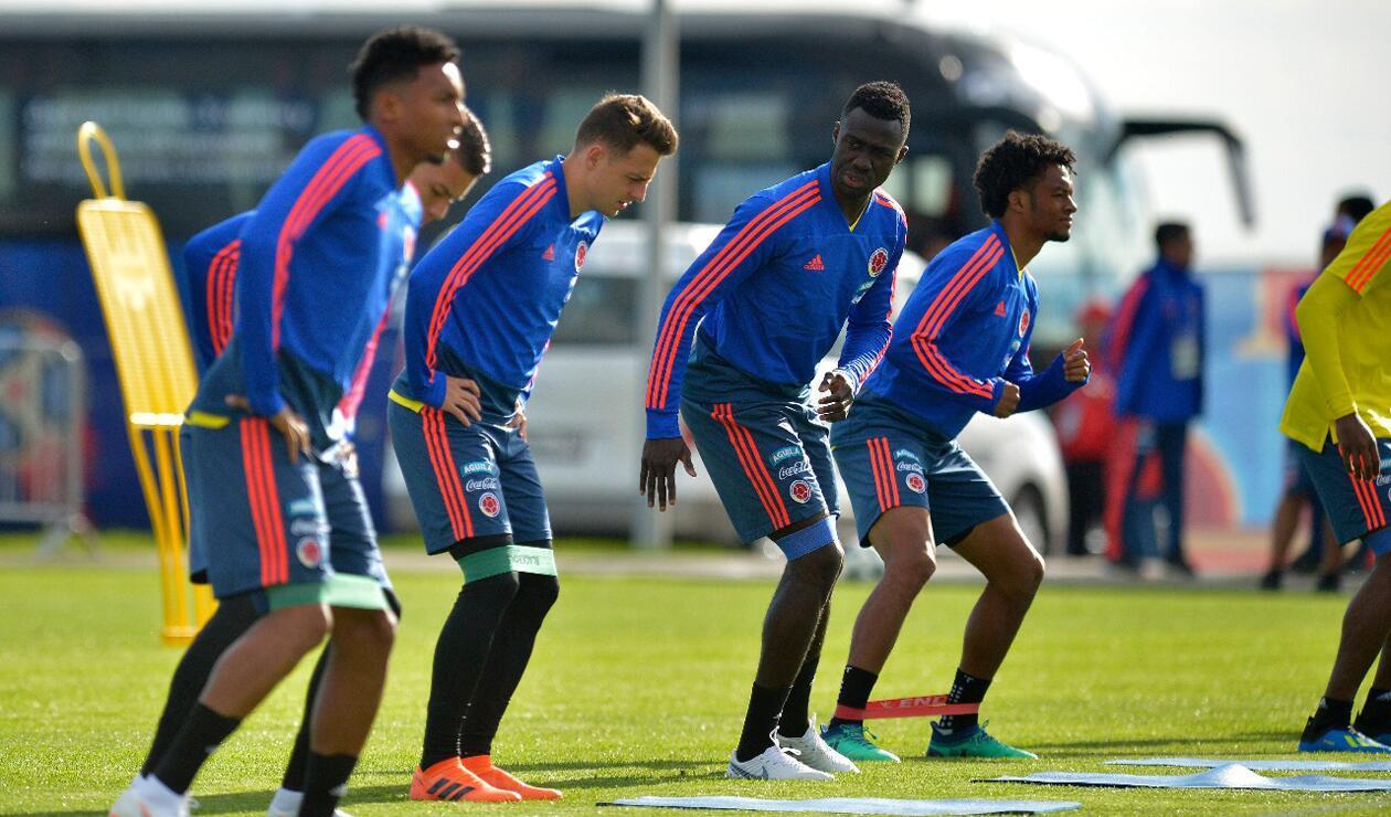 Colombia entrenamiento Rusia jun 15 5