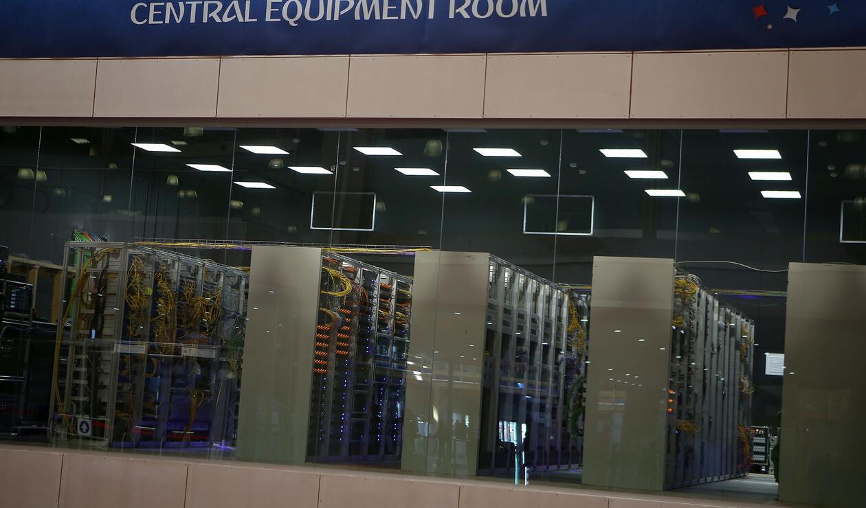 IBC Centro Interncional de Medios centro de equipos Moscú