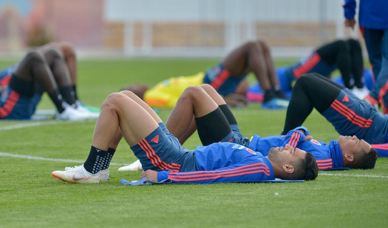Colombia entrenamiento Rusia jun 15 6