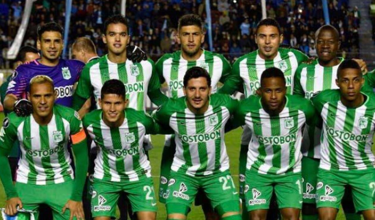 Jugadores de Atlético Nacional en Copa Libertadores