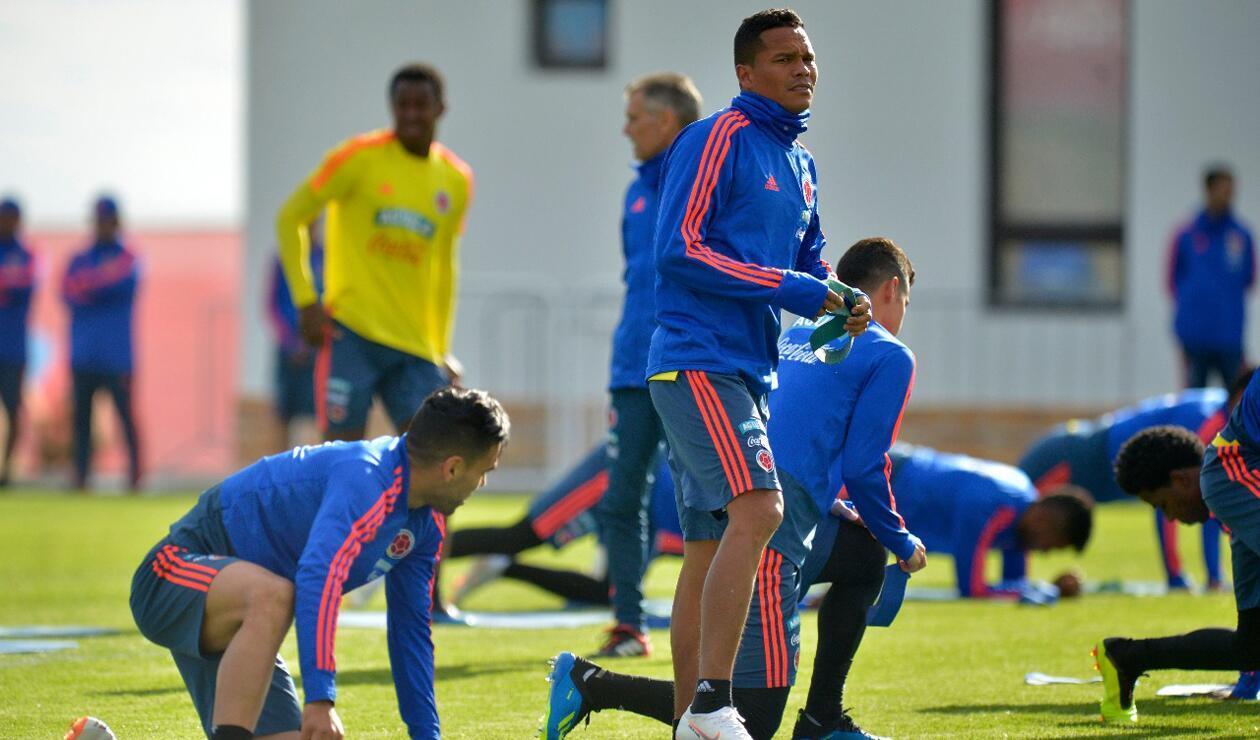 Colombia entrenamiento Rusia jun 15 7