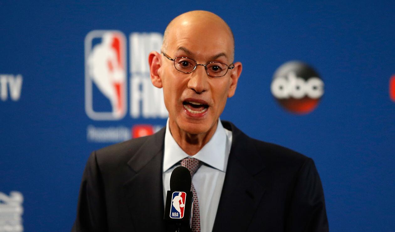 Adam Silver, Comisionado de la NBA, en conferencia de prensa después de la final Warriors Vs Cavaliers
