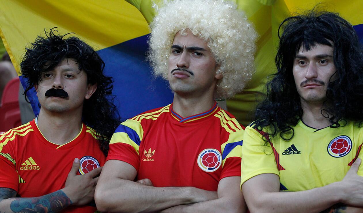 Aficionados Colombia Polonia