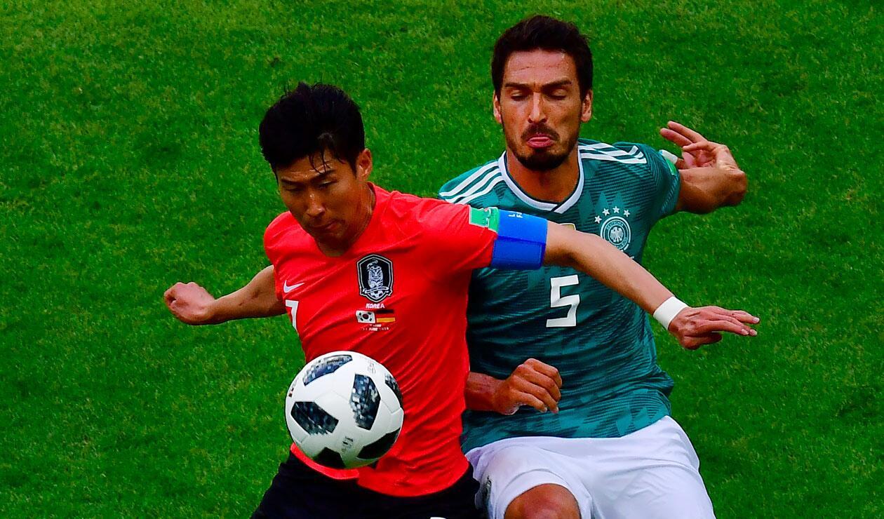 Alemania vs Corea del Sur