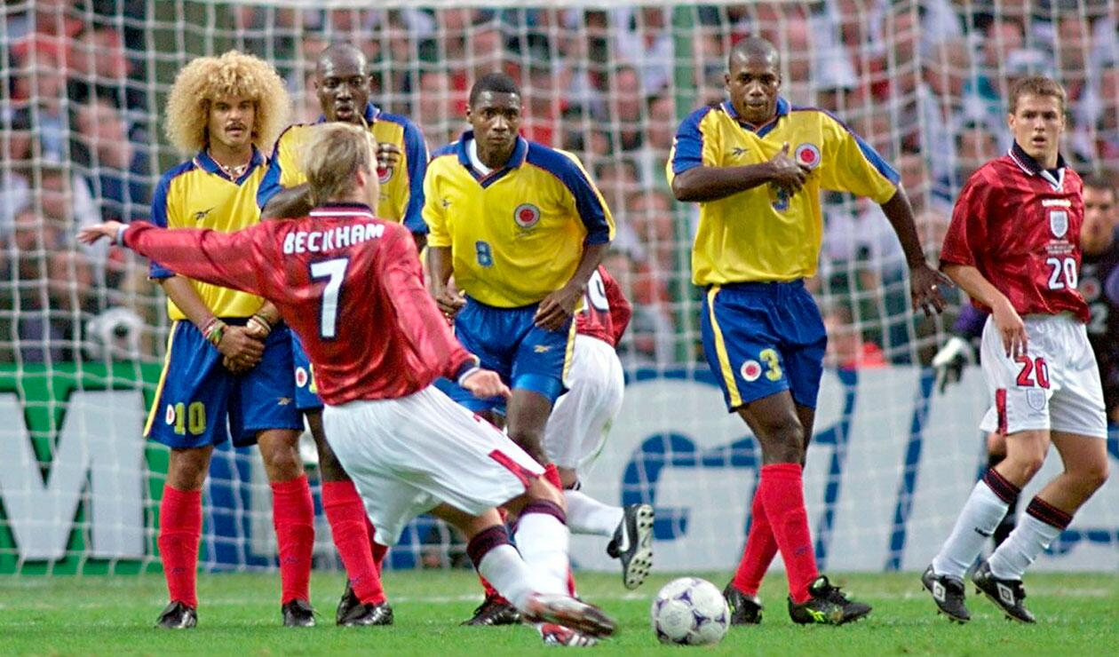 Image result for colombia inglaterra 1998