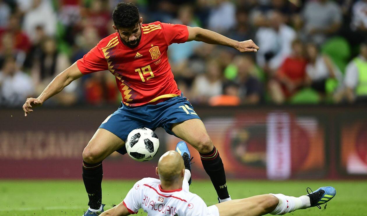España venció a Túnez 1-0 en el partido amistoso previo a la Copa Mundo Rusia 2018