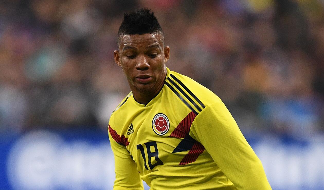 Frank Fabra jugando con la Selección Colombia