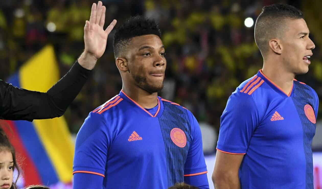 Frank Fabra se perderá el Mundial de Rusia 2018 con la Selección Colombia