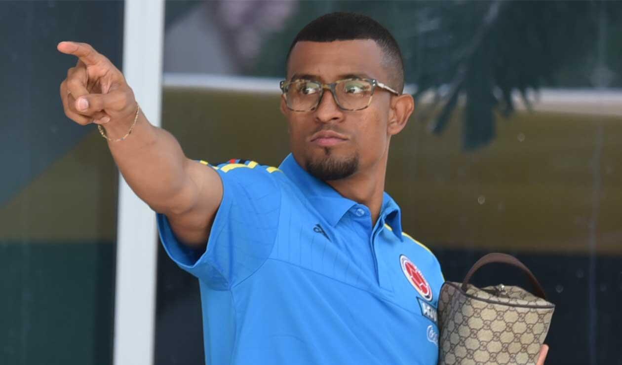 Farid Díaz, lateral que ya se incorporó a la Selección Colombia