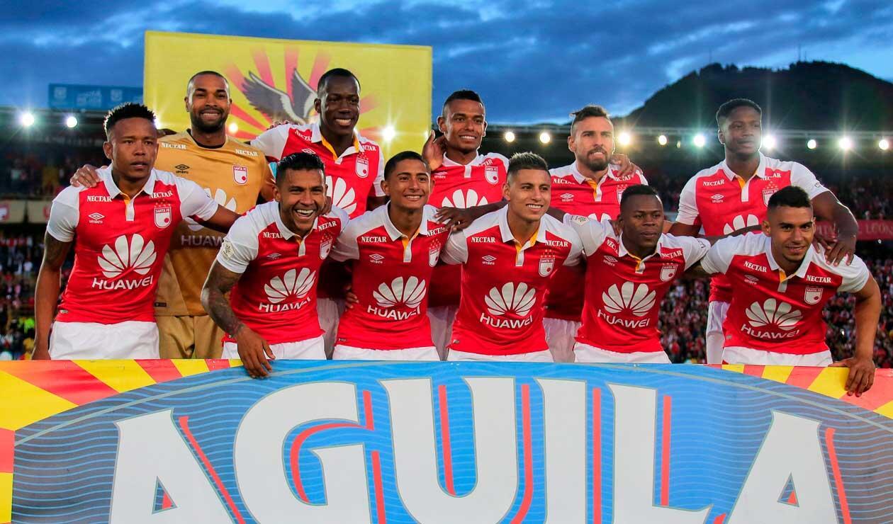 Independiente Santa Fe quedó fuera de las finales en la Liga Águila