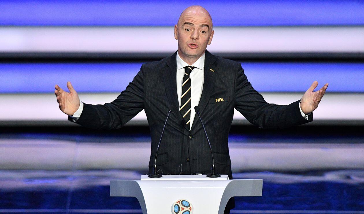 Gianni Infantino actual presidente de la FIFA