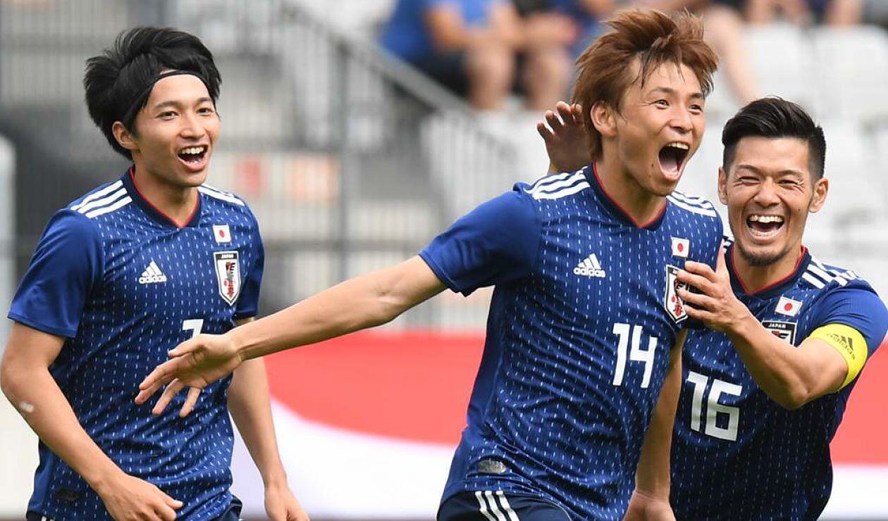 El Seleccionado japonés le marca un gol a Paraguay en partido amistoso