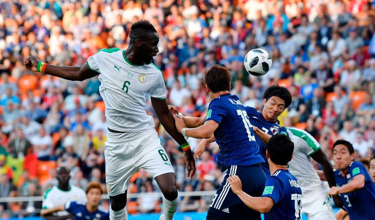 Japón y Senegal, victoriosos en la primera fecha del mundial