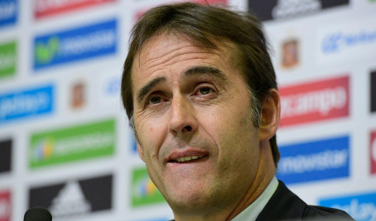 Julen Lopetegui, sería destituido del Real Madrid