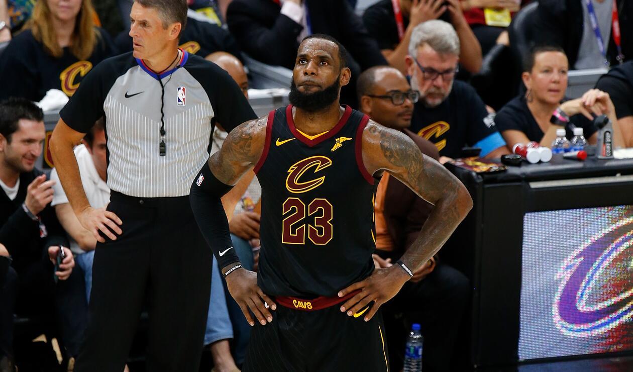 LeBron James saldrá de los Cleveland Cavaliers