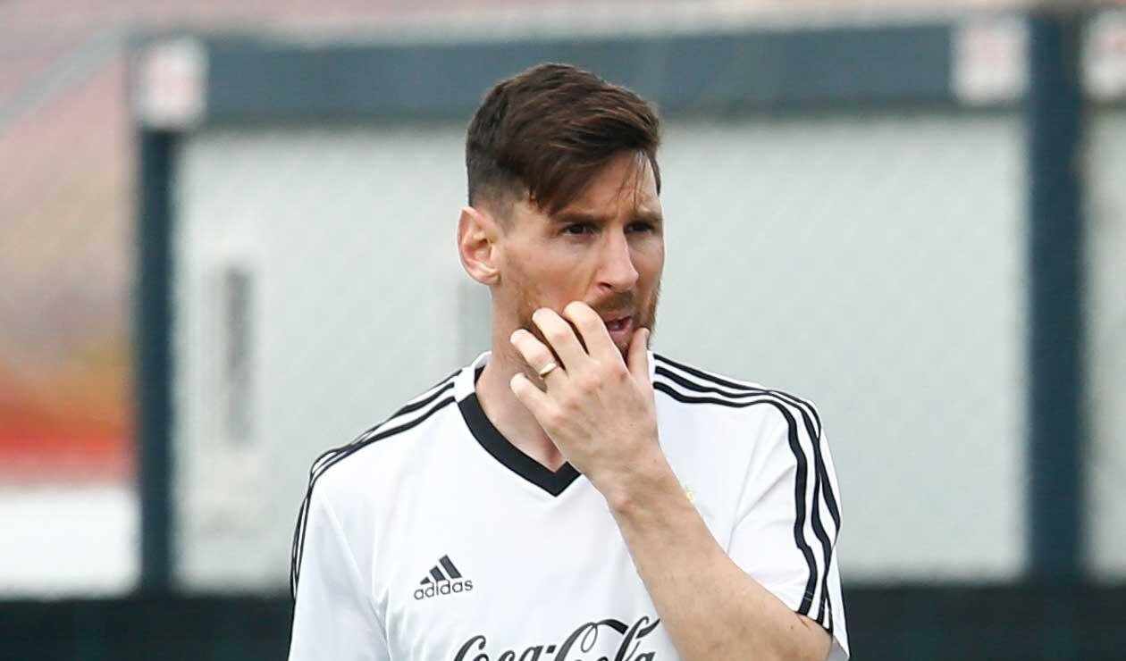 Messi se encuentra concentrado con la Selección Argentina