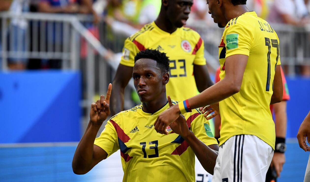 Yerry Mina le entregó la clasificación a Colombia ante Senegal