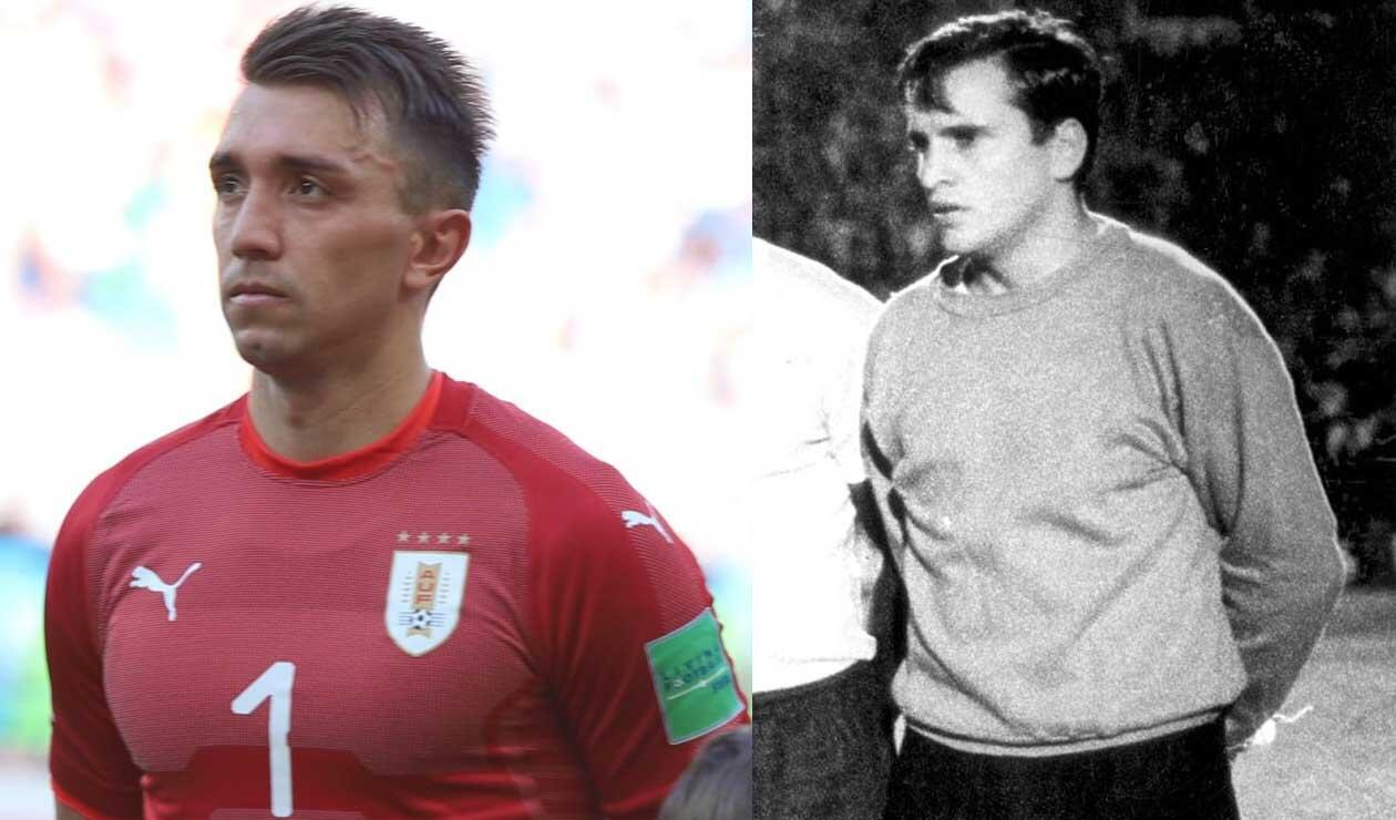 Fernando Muslera y Ladislao Mazurkiewicz son los jugadores de mayor presencia en Mundiales para Uruguay