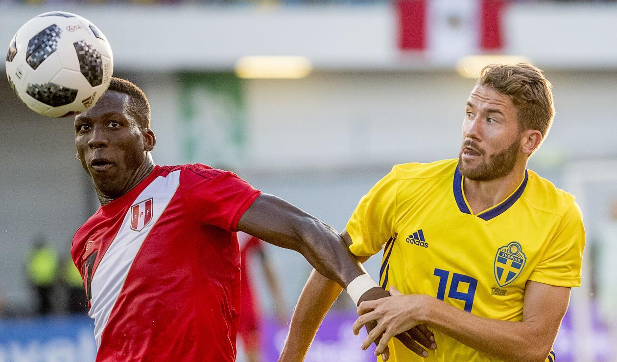 Perú empató 0-0 con Suecia en partido amistoso previo al Mundial