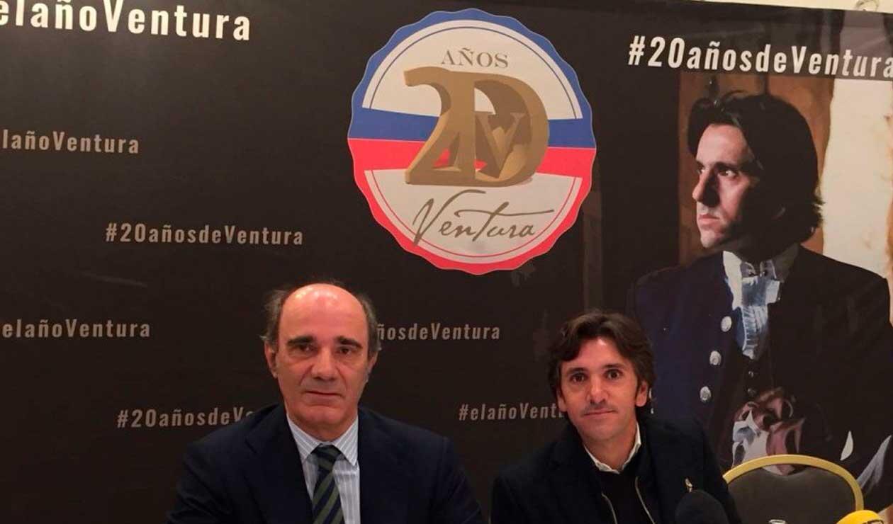 Pablo Lozano y Ventura juntos por los ruedos
