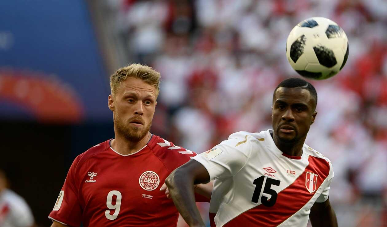 Ante Dinamcarca, Perú regresó a un Mundial
