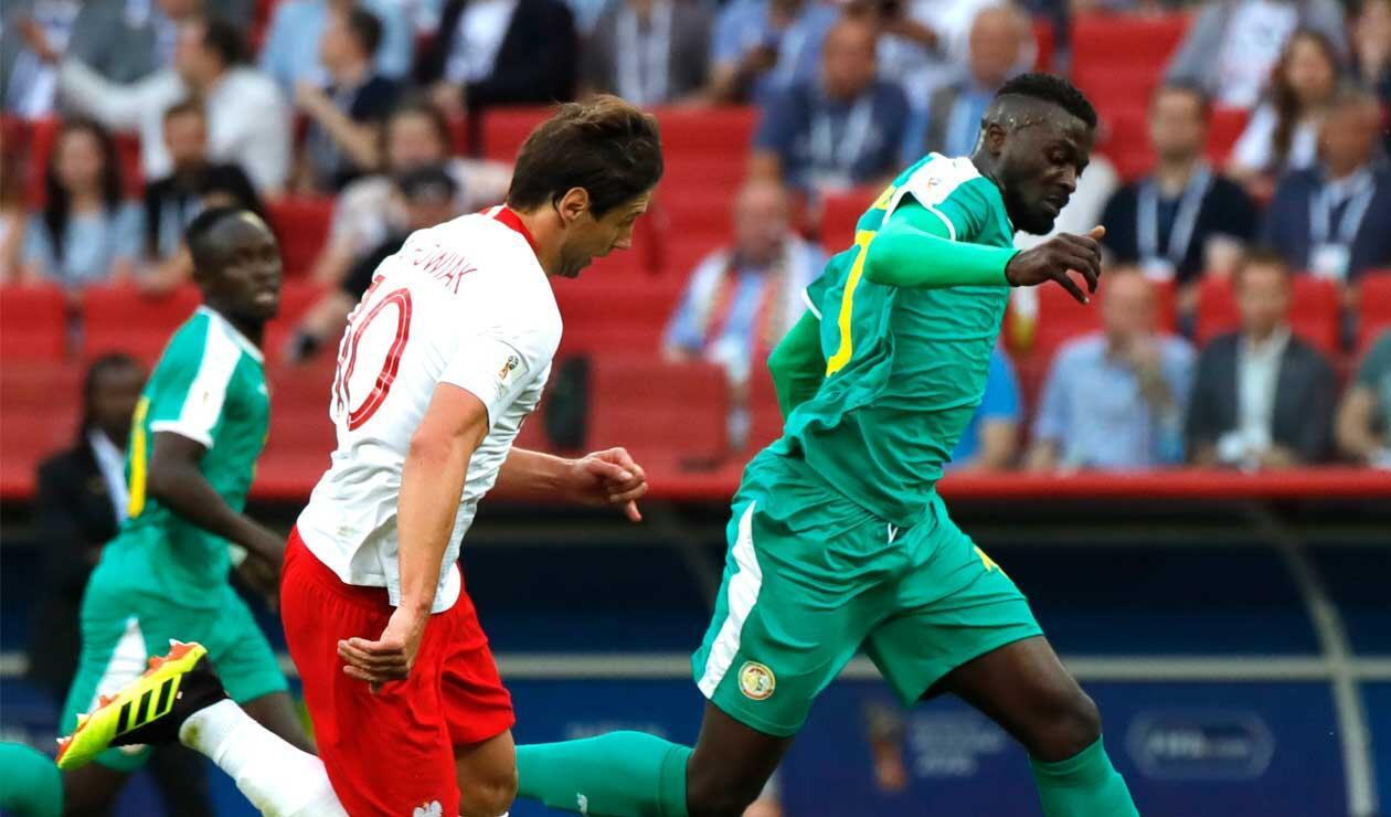 Senegal, co-líder del grupo H con su victoria 2-1 ante Senegal
