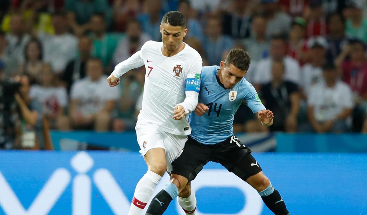 Resultado de imagen para uruguay vs portugal 30 junio 2018