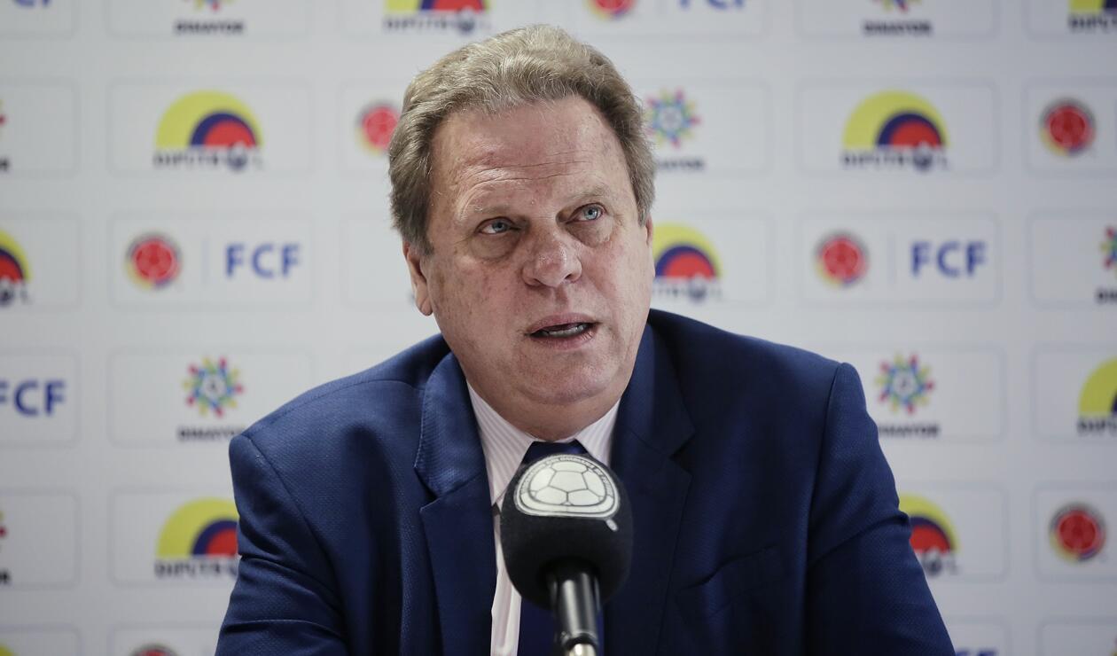 Ramón Jesurúm presidente Federación Colombiana de Fútbol