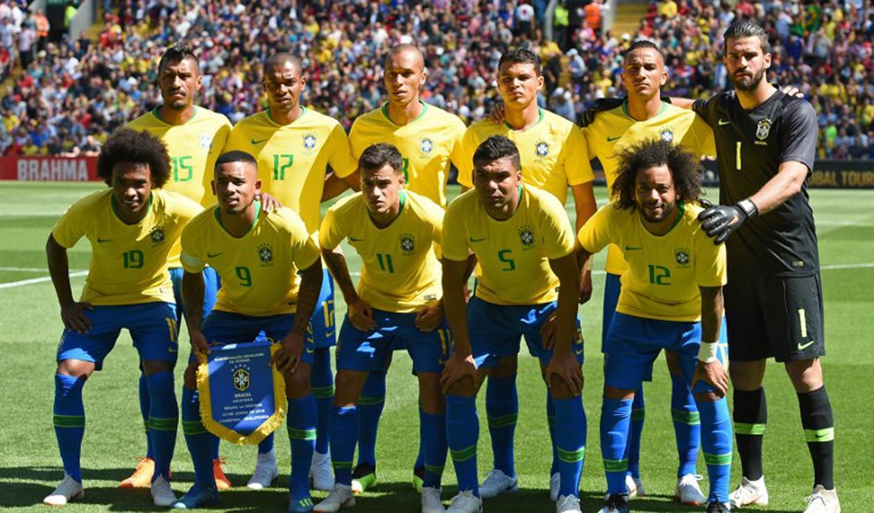Alisson, arquero titular de la Selección de Brasil